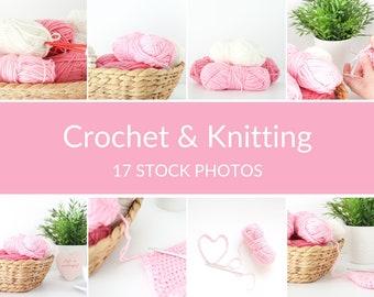 Crochet Stock Photos, Knitting Stock Photos, Craft Stock Photos, Wool Stock Photos, Stock Images, Styled Stock Photos