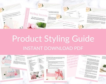 DIY Product Photography Styling Tips and Ideas, Product Styling, Etsy Shop Branding, Etsy Shop Help, Product Photographer, Etsy Shop Set Up