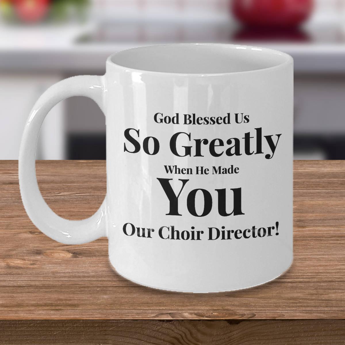 Geschenk für Chorleiter Kaffee 11 Unzen Becher Keramik | Etsy