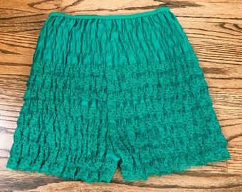 Vintage Lace Ruffle Bloomers