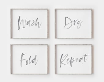 picture about Free Printable Laundry Room Signs referred to as Laundry space artwork Etsy