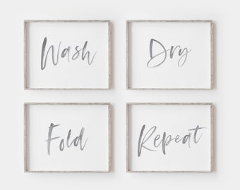 photo relating to Free Printable Laundry Room Signs identified as Laundry house artwork Etsy