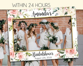 13bf3b1aca8 Bridal Shower Photo Prop - Wedding photo props - bridal shower - photo  booth frame - Bridal Shower sign - Bridal Shower decoration