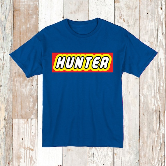 Boy Custom Font Tee Tees Shirts With Name Cool Boys T-Shirts | Etsy