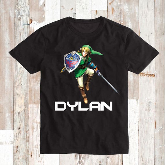 Zelda Shirt Tees Cool Zelda Video Game T-Shirts For Kids