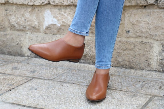 Leather Shoes Size Shoes Shoes Flat Winter HandMade Pumps Shanti's Free Shipping Zip Women Shoes Shoes Shoes Large Camel Shoes Also OB7YxZ