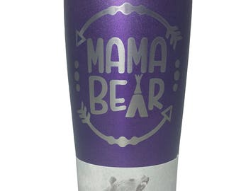 Mama Bear Grizzly Tumbler