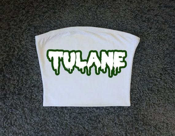 93299c54b8 Tulane University Green Wave Nola Tube Top   Tailgate Clothing