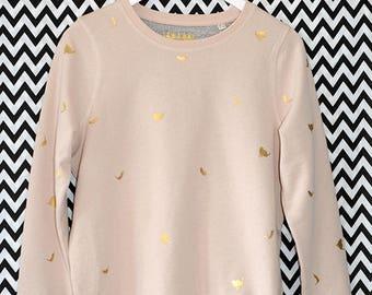 Sweatshirt//CAT//cat Gold Organic Organic Fairtrade