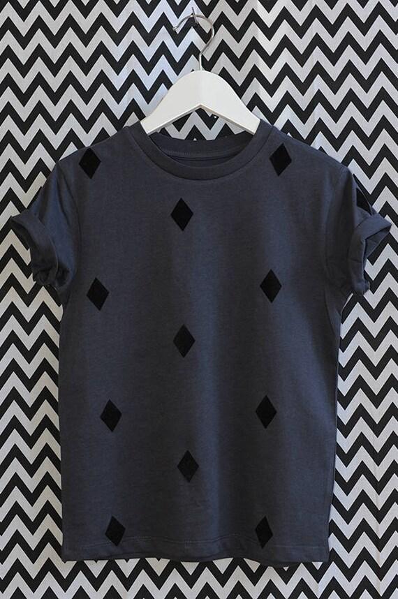 0b2c29ebdd T-shirt Diamonds Organic Fair Organic   Etsy