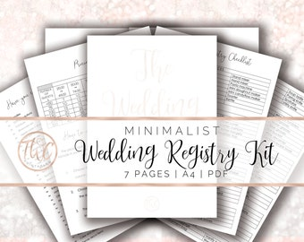 printable wedding checklist wedding planner ultimate etsy