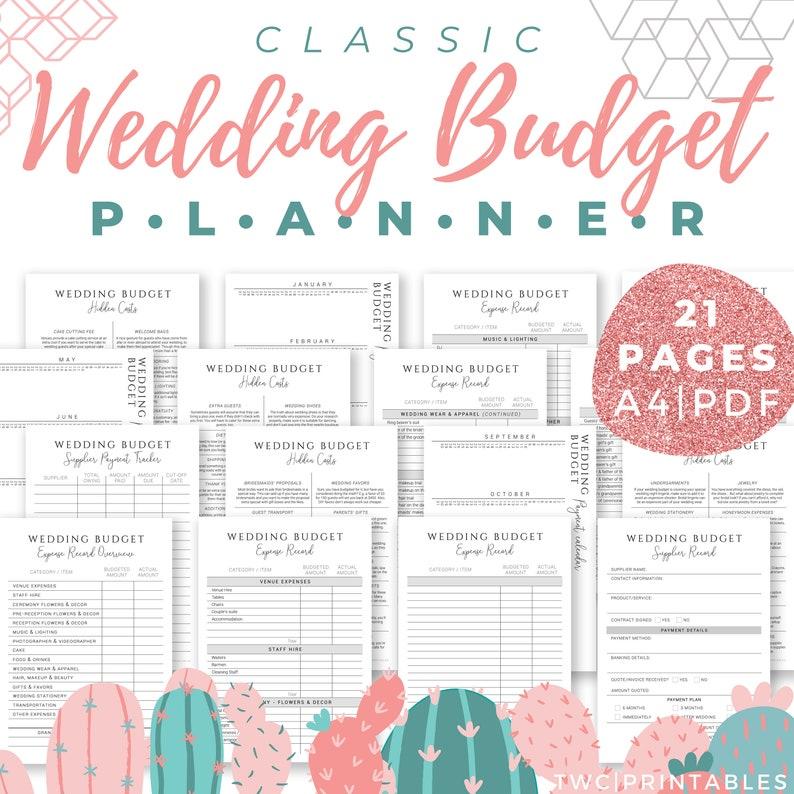 Wedding Budget Planner and Tracker updated version  wedding image 0