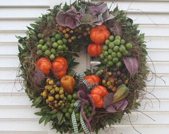 """Door wreath """" Fruit magic """""""