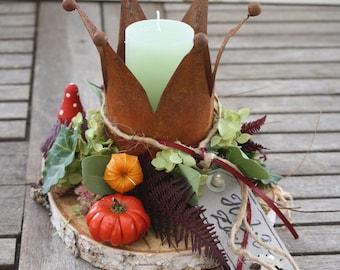 """Autumn decoration """" Krönchen """""""