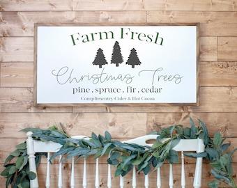 Christmas Tree Farm Sign | Christmas Tree Farm Sign Large | Christmas Wall  Decor | Christmas Signs On Wood
