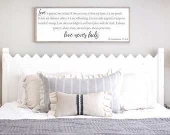 Master bedroom wall decor | Etsy