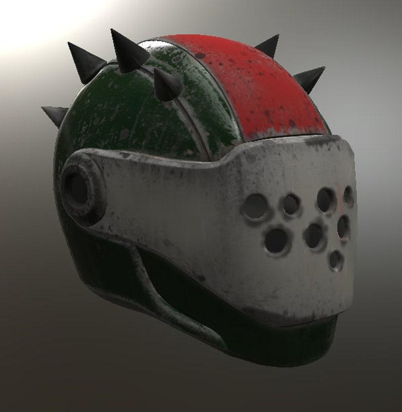 Rust Lord Helmet 3D Model STL File