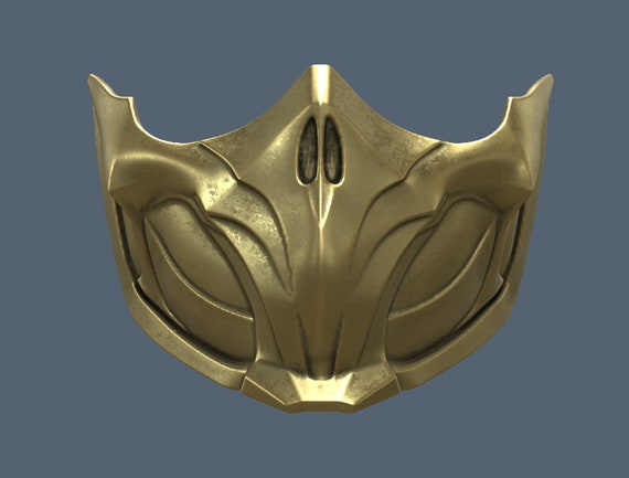 Mk 11 Scorpion Mask 3d Model Stl Files Etsy