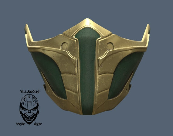 Mk 11 Jade Or Skarlet Mask 3d Model Stl Files Etsy
