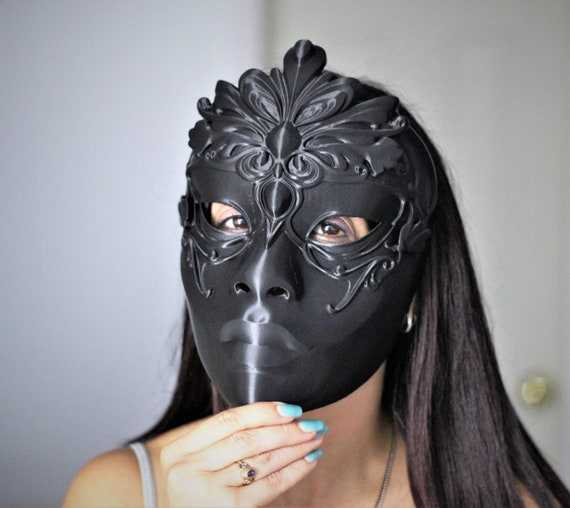Mortal Kombat 11 Kitana Blue Dream Mask Etsy
