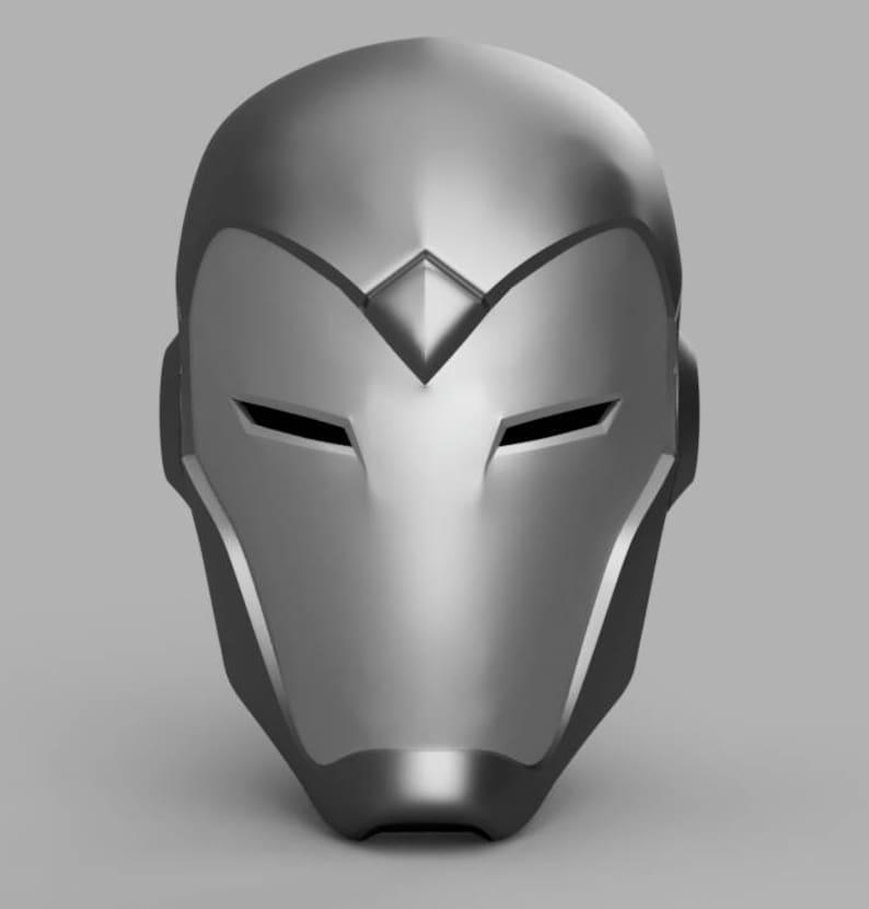 Superior Iron Man Helmet 3D Model STL File