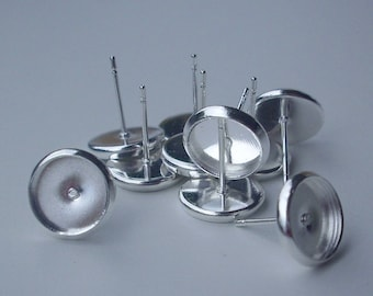 5 pairs earring silver tray