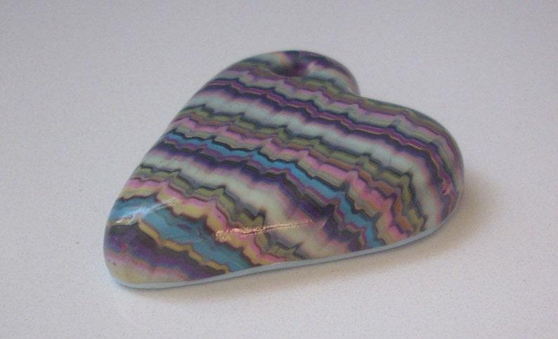 model unique Creation Handmade pendant heart-shaped hand 45 mm