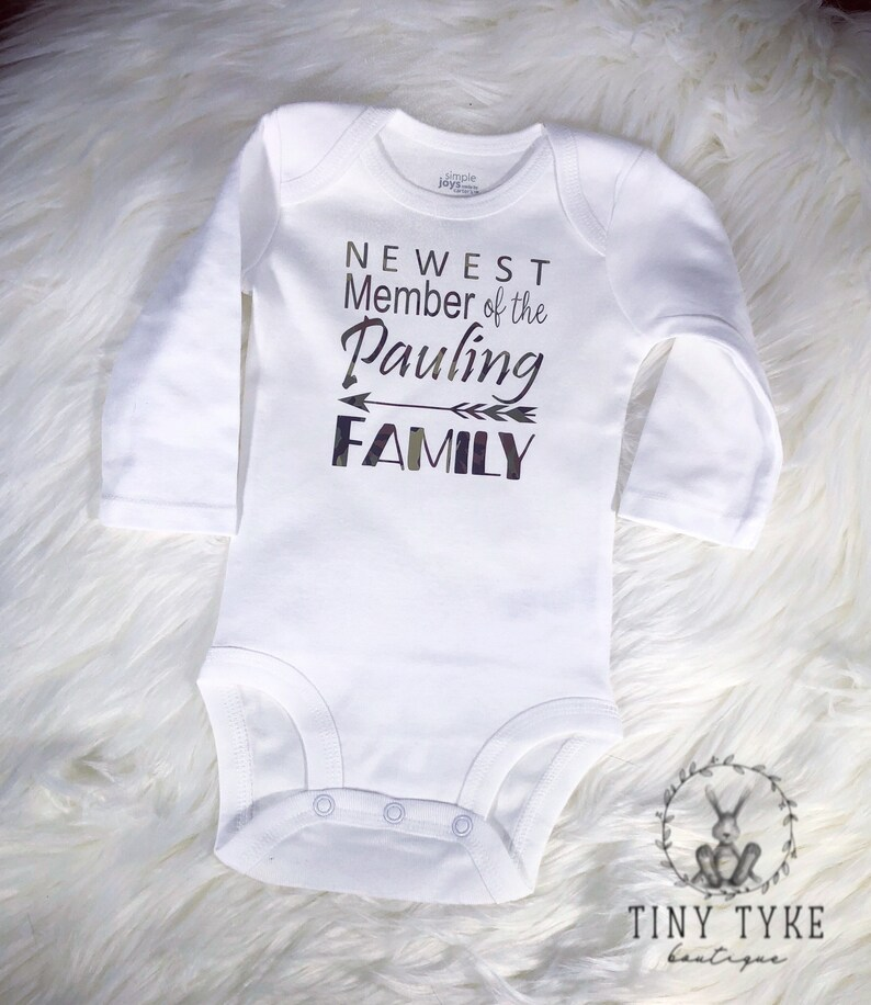 Child Toddler Newborn New Baby Air Force Military Baby Camouflage Navy Newest Member CAMO onesie Marines Army Military Onesie