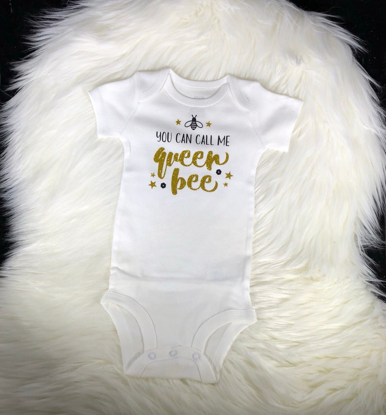 59826340f73 You Can Call Me Queen Bee Onesie baby onesie funny onesie