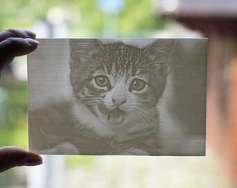 3d printed photo (Lithophane) 10x15cm