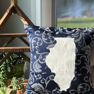 Illinois State PillowIllinois Decor