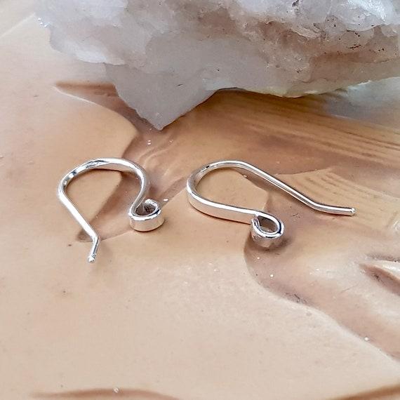 AU SELLER 10pcs//pack 925 Sterling Silver Earrings Hooks