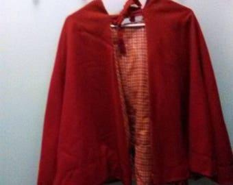 Kids Renissance red cloak