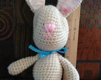 Bunny crocheted stuffed animal