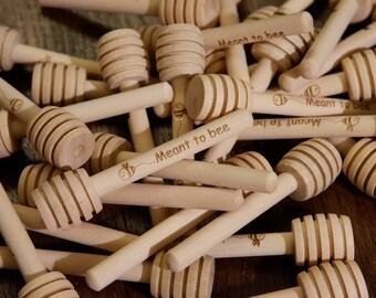 Wooden Honey Dipper,  Custom Engraved, Mini Wooden Honey Dipper, Personalised wooden spoon, Wooden gifts, Spoon Dippers,Honey Dippers