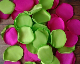 Hot Pink Lime Green Etsy