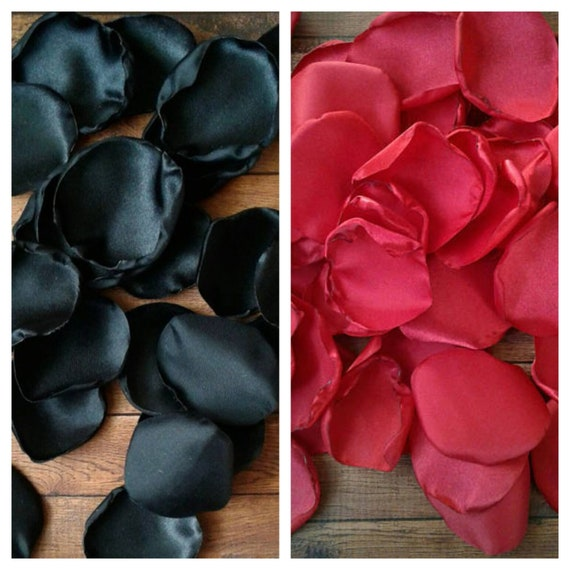 Lady bug baby shower, lady bug birthday party, hollywood sweet 16, hollywood party decorations, Red and Black rose petals, table decor.
