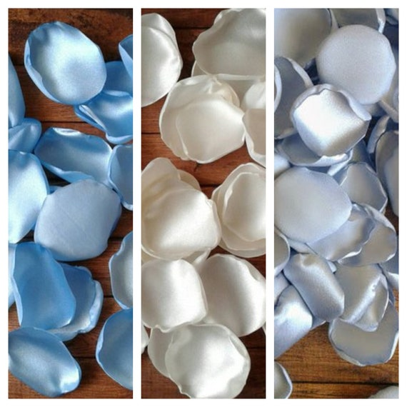 Baptism decorations, angel baby shower, christening baby boy, centerpieces, party decor, blue, ivory silver, flower petals, favors,gifts.