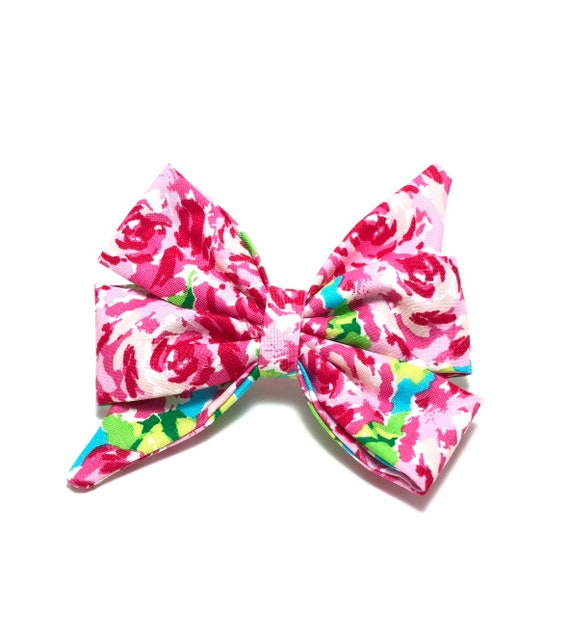 Dog Girly Bow Bell Collar Bows Over The