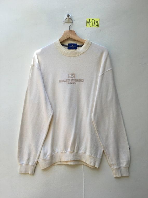 Rarehiroko Koshino Homme Fashion Designer Embroidery Spell Etsy