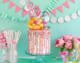 Drip Cake Fake Prop Party Decor