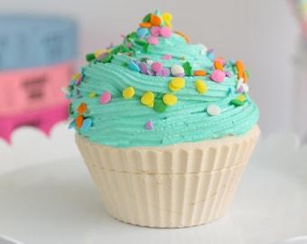 Partial Sprinkle Cupcake- Fake cupcake, prop cupcake, party decor