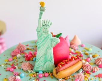 New York Cake Topper