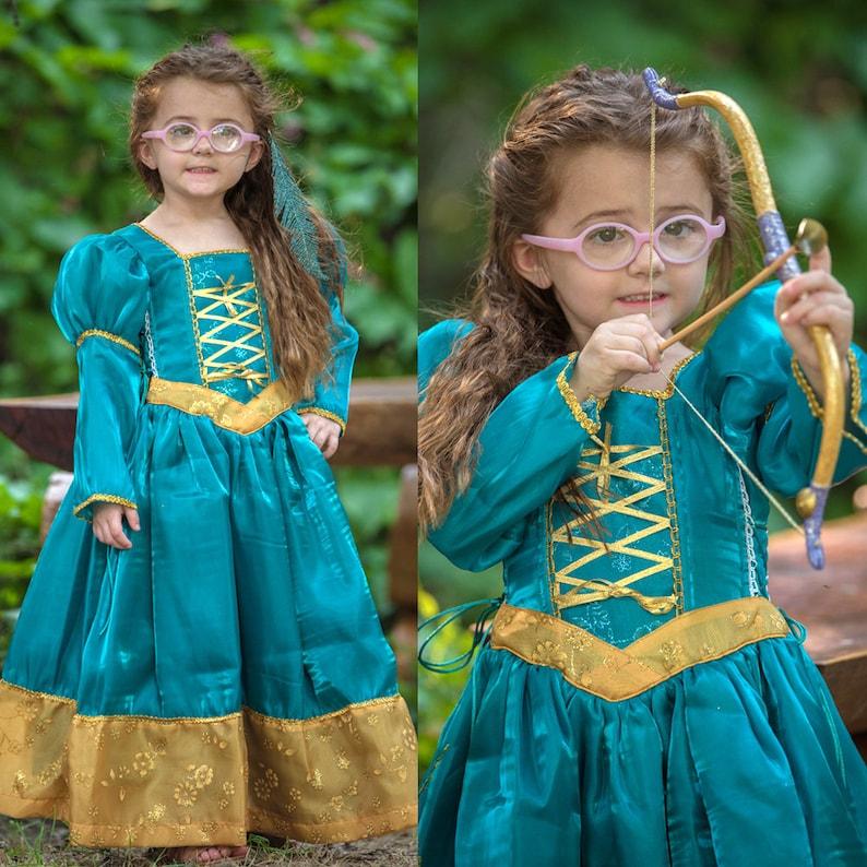 Merida Cosplay Princess Dress