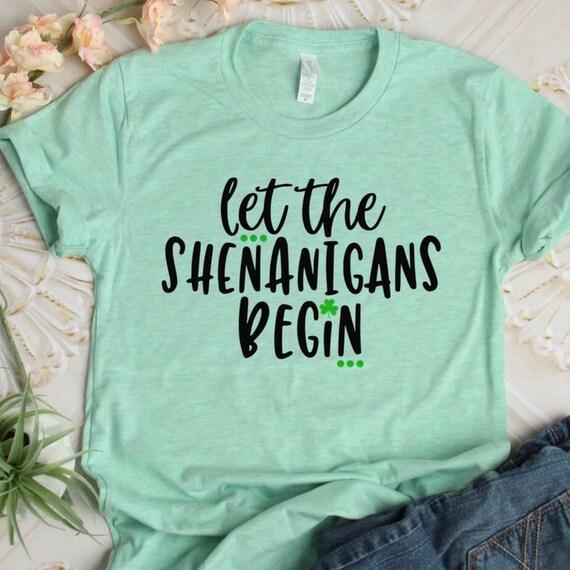 1a5aefe36 Shenanigans Shirt St. Patricks Day Shirt st patricks day | Etsy