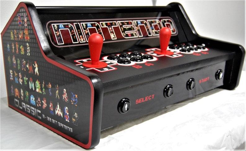 Bartop Game Arcade Tabletop raspberry Pi 3 RetroPie Mobile Like X-arcade