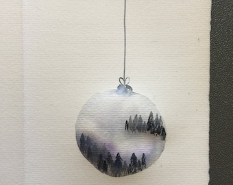 Hanging Christmas Bauble