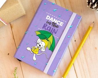 Pocket Notebook | Pocket Journal | Mini Notebook | Illustrated Notebook | Cute Stationery | Mouse Notebook