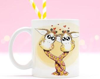 Mug for couples, Custom mug
