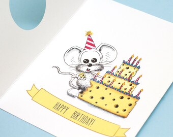Illustrated Birthday Card